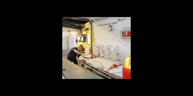 Les ambulanciers brainois actifs à Rhode-St-Genèse