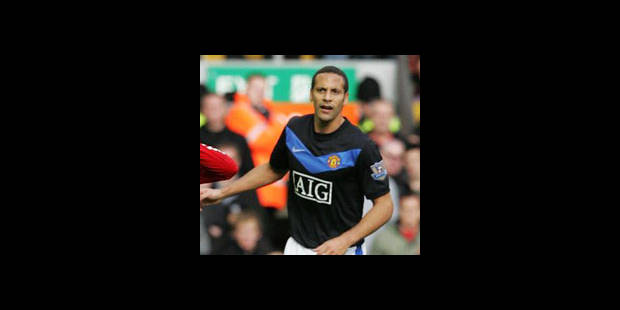 Rio Ferdinand fait son retour de blessure - La DH