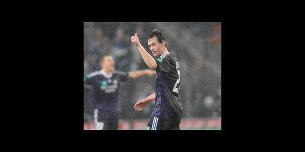 Anderlecht reprend la tête du classement
