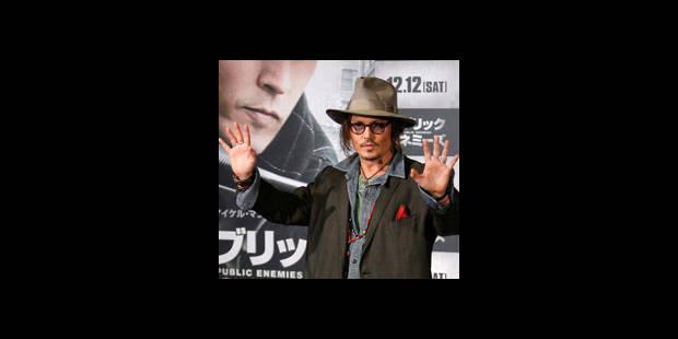 Johnny Depp fait la promotion de son dernier film, mais ne l'a pas vu