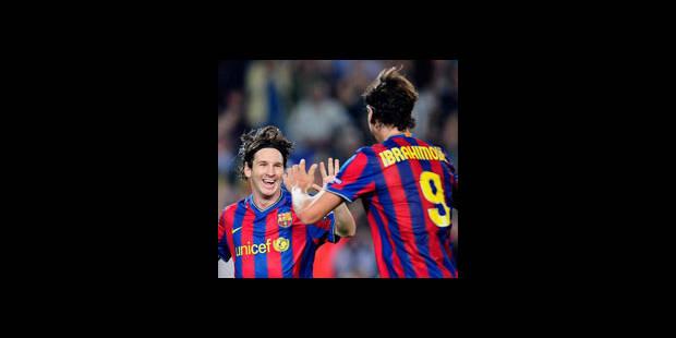 "Messi et Ibrahimovic toujours incertains pour le ""clasico"""