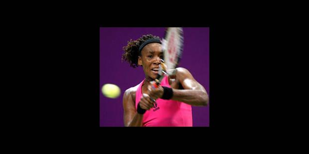 Masters: Venus Williams et Jankovic en 1/2 - La DH