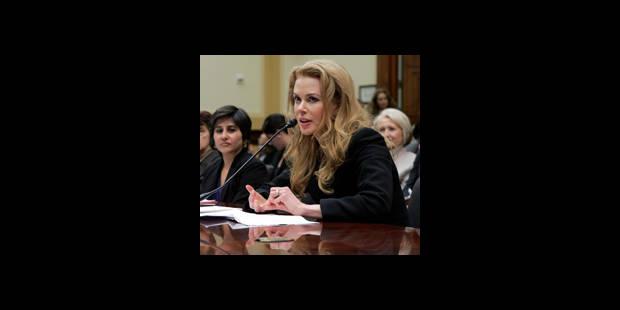 Nicole Kidman au Congrès américain contre les violences faites aux femmes