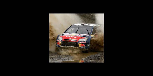 Rallye de GB, 2e journée - Loeb s'échappe sous la pluie