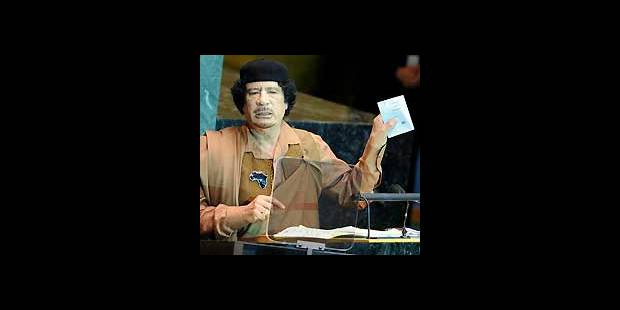 ONU: Kadhafi joue aussi la carte de la provocation - La DH