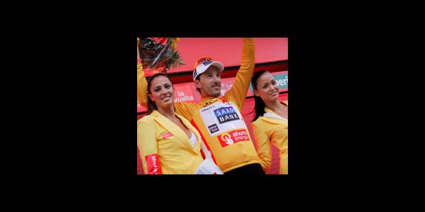 Vuelta/14e étape - Fabian Cancellara non partant - La DH