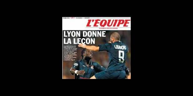 La presse française sévère avec Anderlecht - La DH