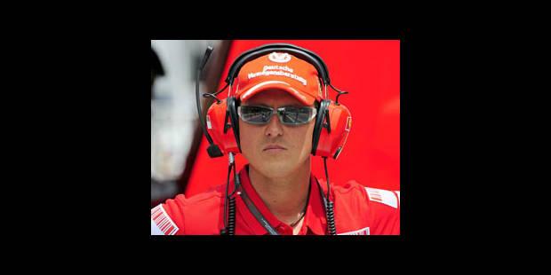Michael Schumacher revient en F1 !