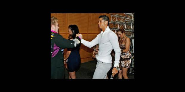 Cristiano Ronaldo avec le mannequin italien Raffaella Fico - La DH