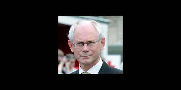 Van Rompuy estime que sa mission de Premier ministre se terminera en 2011 - La DH