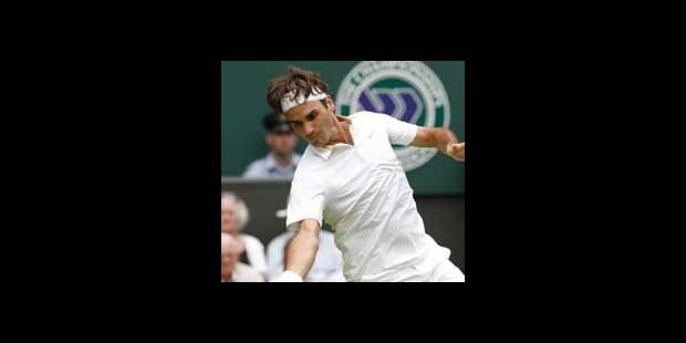 Wimbledon: Federer passe le premier tour - La DH