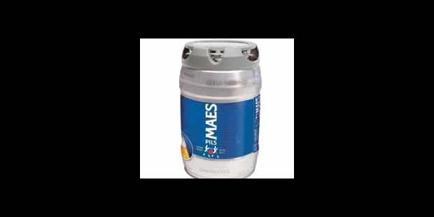Fût de bière pression sans machine