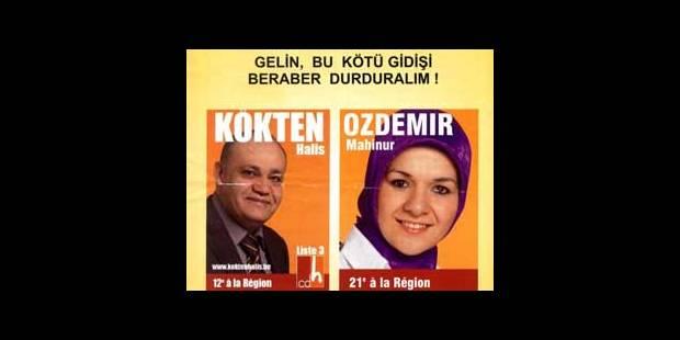 Le CDH fait campagne en turc