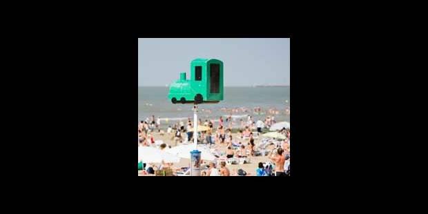 Poteaux de la côte belge à Cannes - La DH