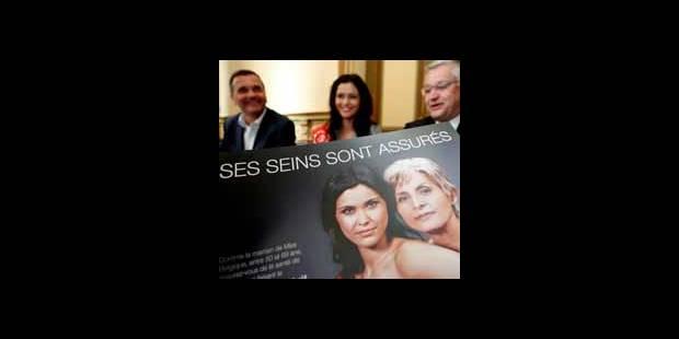 Miss Belgique en campagne pour le dépistage du cancer du sein - La DH