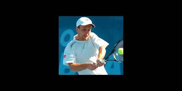 ATP Barcelone: Christophe Rochus sort Gasquet - La DH