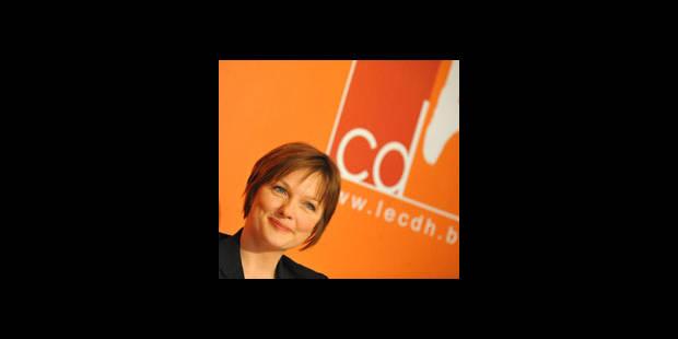 Anne Delvaux tête de liste européenne cdH - La DH