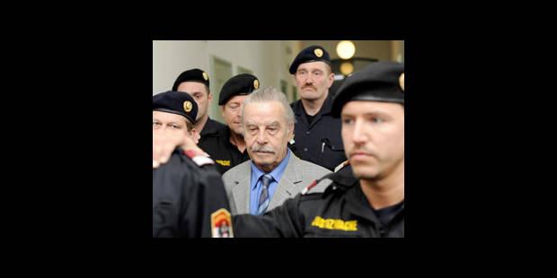 Fritzl condamné à la prison à vie - La DH
