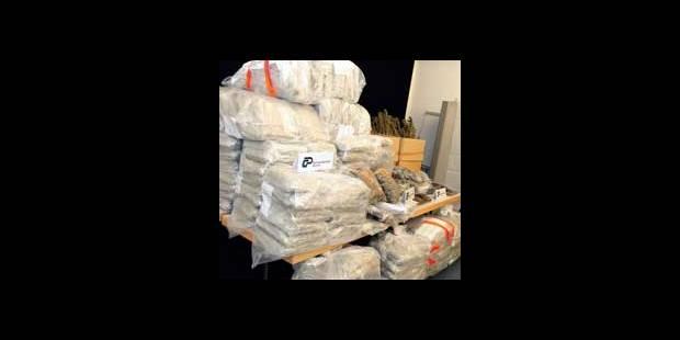 Saisie de plus de 70 kilos de cannabis à Bruxelles - La DH