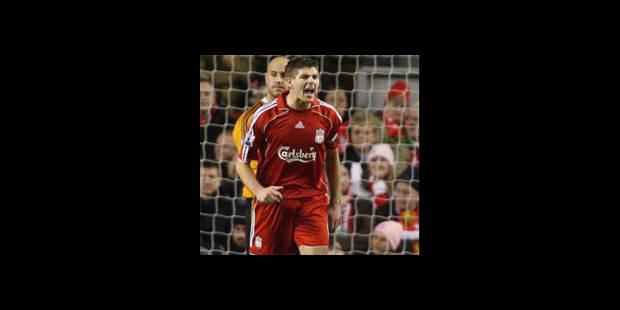 Le capitaine de Liverpool Steven Gerrard arrêté - La DH