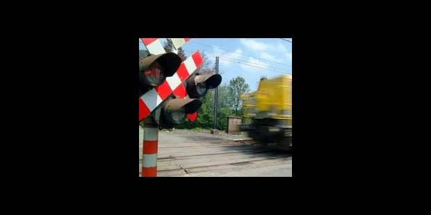 Il joue à régler la circulation sur un passage à niveau - La DH