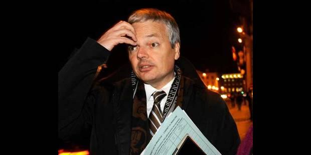 Reynders ne se voit pas Premier ministre à cause du PS - La DH
