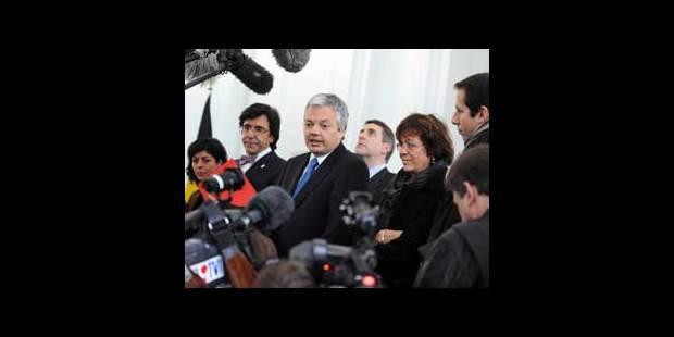 Les présidents des partis francophones réunis à 15h - La DH