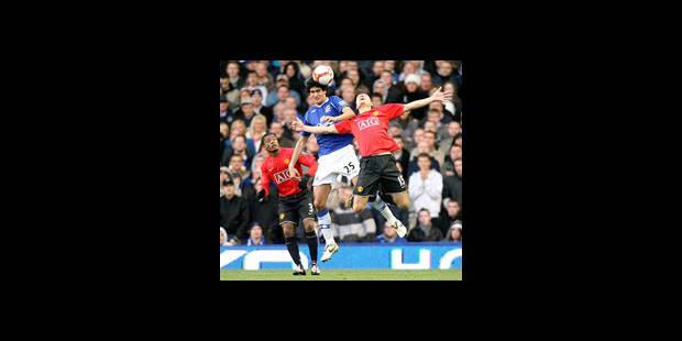 Fellaini stoppe  Manchester United - La DH
