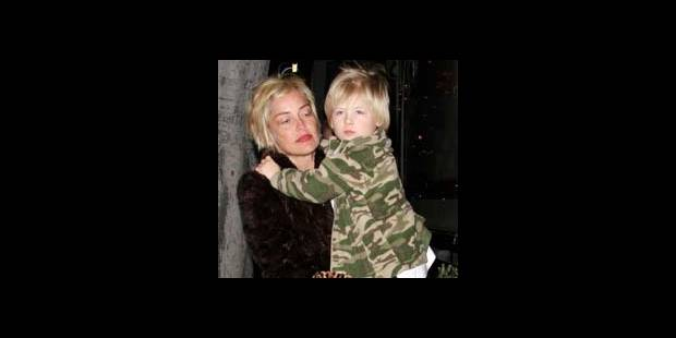 Sharon Stone sans son fils ?