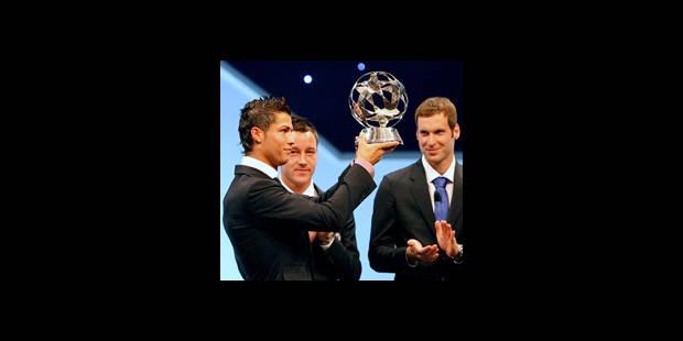 Cristiano Ronaldo, joueur européen de l'année - La DH
