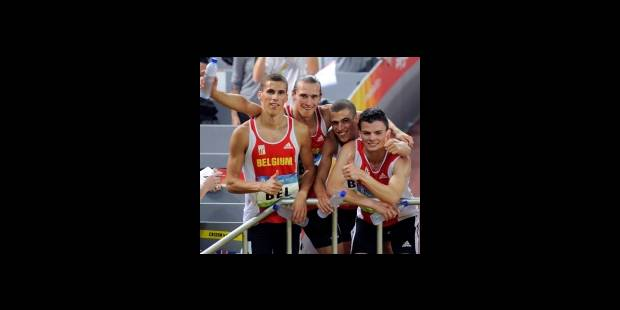 JO/Athlétisme: finale et record de Belgique pour le 4x400 masculin - La DH