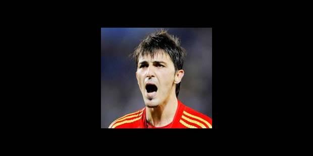 Le Real offre plus de 45 millions d'euros pour David Villa - La DH