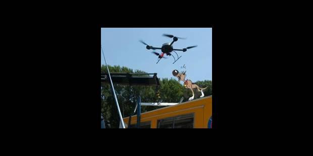 Le drone s'est crashé