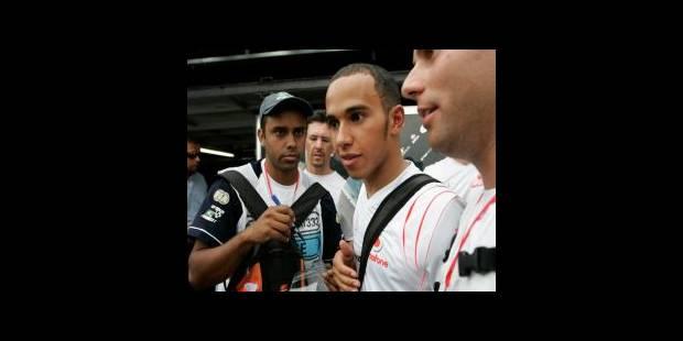 """Hamilton: """"je veux gagner le titre sur la piste"""""""