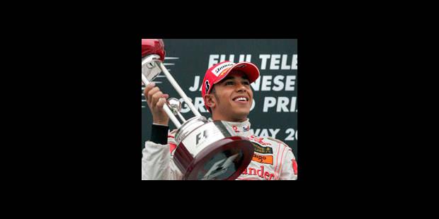 Hamilton vainqueur du Grand prix du Japon