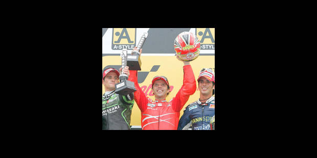 Casey Stoner champion du monde - La DH