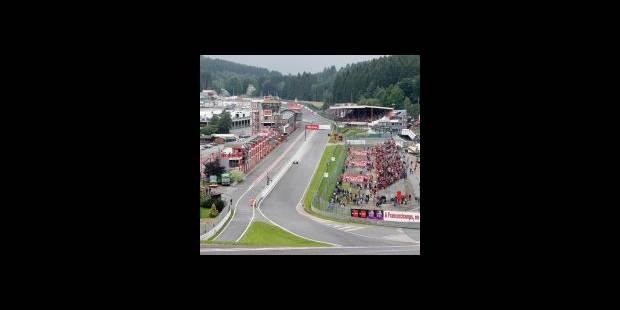 La F1 est déjà à Francorchamps