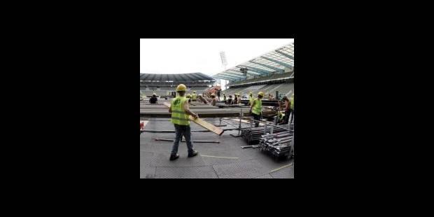 Genesis : le stade Roi Baudouin se prépare - La DH