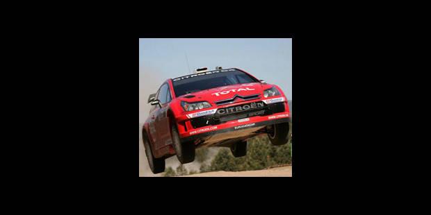 Rallye: Loeb double son avance