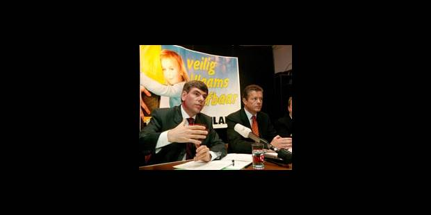 Supprimer la dotation du Vlaams Belang - La DH
