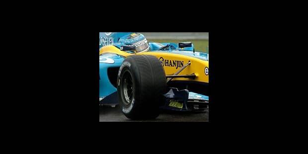 Francorchamps - Trulli devant Schumi - La DH