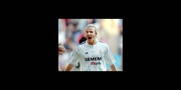 Liga - Où faire jouer David Beckham? - La DH