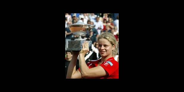 WTA Rome: victoire de Kim Clijsters