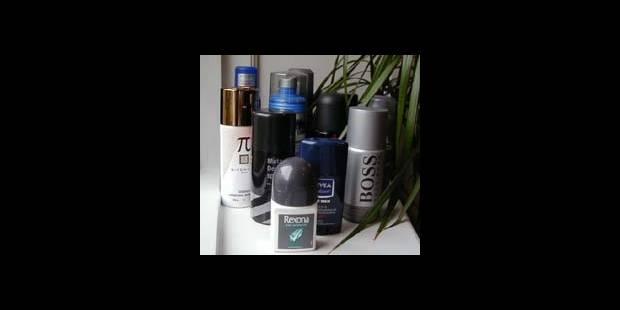 Les Belges utilisent de plus en plus de déodorant - La DH