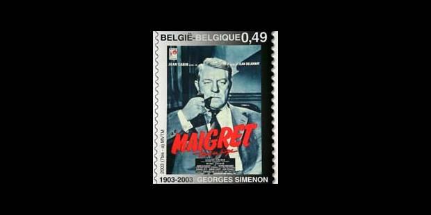 Trois timbres Simenon - La DH