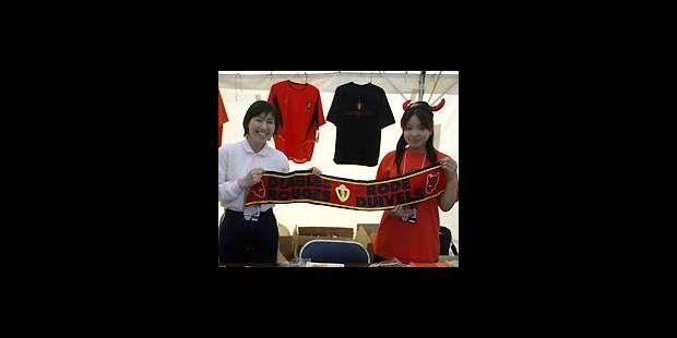 Les Diables Rouges déjà à l'heure nippone - La DH