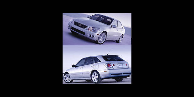 Les cotes de la <i>DH</i> - Lexus IS 300 SportCross