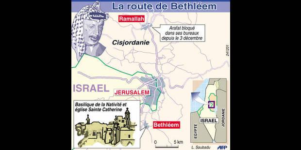 Proche-Orient: Arafat privé de prière - La DH