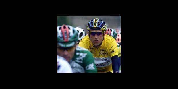 Christophe Moreau, premier maillot jaune !