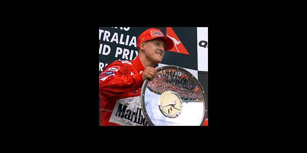 Formule 1: Michael Schumacher impose sa Ferrari en Australie - La DH